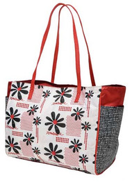 Glove It Daisy Script Tote Bag