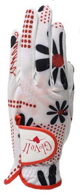 Glove It Daisy Script Ladies Golf Glove - Size: Medium
