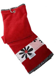 Glove It Daisy Script Ladies Golf Towel
