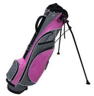 RJ Sports Typhoon Pink Mini Stand Golf Bag