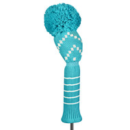 Just4Golf Turquoise Chevron Driver Cover