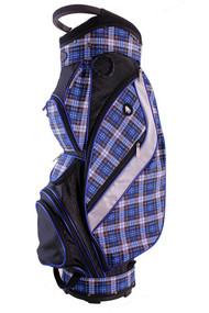 Hunter Golf Galaxy Ocean Plaid Ladies Golf Bag