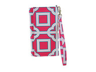 All For Color Pink Charmer Wristlet