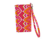All For Color Sunrise Ikat ID Wristlet