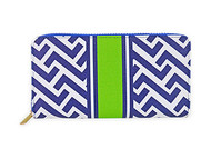 All For Color Nautical Tide Everyday Wallet
