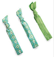 All For Color Ikat Hair Ties - Set of 3