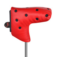 Just4Golf Red Dot Blade Putter Cover