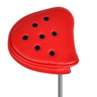 Just4Golf Red Dot Mallet Putter Cover