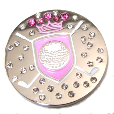 Pink Shield Ball Marker Only