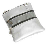 Glove It Signature Silver Suede 3 Zip Golf Accessory Bag