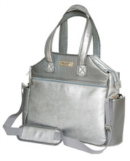 Glove It Signature Silver Suede Ladies Tennis Tote Bag