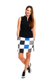 Golftini Hollywood Squares Golf Skort
