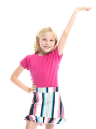 Golftini Girl Money Maker Junior Golf Skort