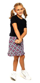 Golftini Girl Star Struck Tech Junior Golf Skort