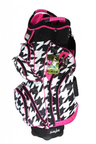 Molhimawk Pink Houndstooth Ladies Golf Bag