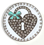 Heart Locket Ball Marker Only