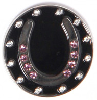 Pink Horseshoe Ball Marker Only