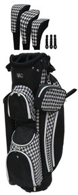 RJ Sports LB-960 Houndstooth Ladies Golf Bag