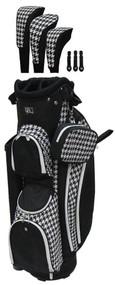 RJ Sports LB-960 Houndstooth Ladies Golf Bag