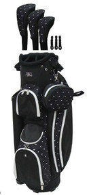 RJ Sports LB-960 Polka Dot Ladies Golf Bag