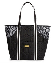 cinda b Jet Set Black Tennis Court Bag