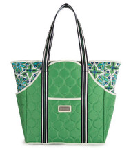 cinda b Verde Bonita Tennis Court Bag