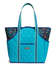 cinda b Bora Bora Tennis Court Bag