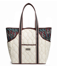 cinda b Autumn Day Tennis Court Bag
