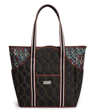 cinda b Autumn Night Tennis Court Bag