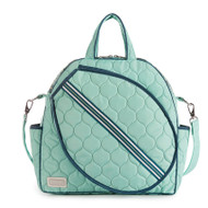 cinda b Purely Peacock Tennis Tote