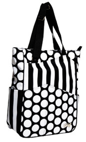 Glove It Mod Dot Tennis Tote Bag