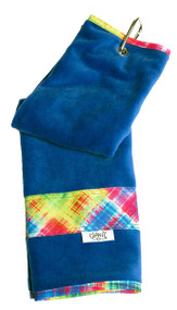 Glove It Electric Plaid Ladies Golf Towel