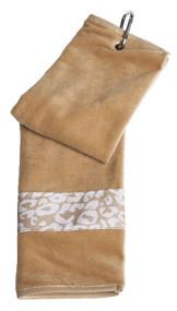 Glove It Uptown Cheetah Ladies Golf Towel