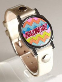 Bazinga Ball Marker Bracelet with Ivory Band