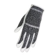HJ Glove Solaire White Leopard Ladies Golf Glove