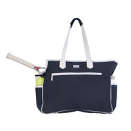 Ame & Lulu Kensington Ladies Tennis Court Bag - Navy