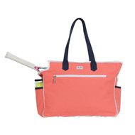 Ame & Lulu Kensington Ladies Tennis Court Bag - Coral