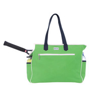 Ame & Lulu Kensington Ladies Tennis Court Bag - Grass Green