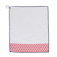 Ame & Lulu Clover Golf Towel
