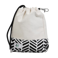 A&L Black Shutters Golf Ditty Bag