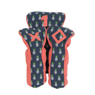 A&L Pineapple Golf Head Cover Set