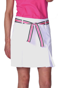 Golftini Blind Date Pleat Performance Golf Skort