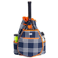 Ame & Lulu Kingsley Tennis Backpack - Abbey Plaid