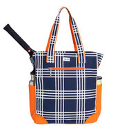 Ame & Lulu Emmerson Ladies Tennis Tote Bag - Abbey Plaid