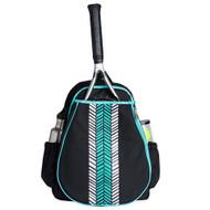 Ame & Lulu Love All Tennis Backpack - Aqua Shutters