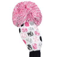Just4Golf Sparkle Pink Polka Dot Hybrid Cover