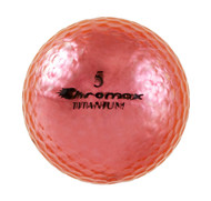 Chromax Metallic Pink Golf Balls - Pack of 6 Golf Balls