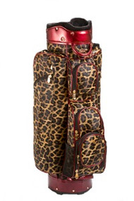 Cutler Sports Paris Leopard Ladies Cart Golf Bag
