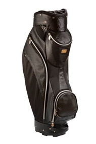 Cutler Sports Charlotte Quilt Black  Ladies Cart Golf Bag
