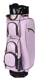 Cutler Sports Ava Blush Pink Ladies Cart Golf Bag